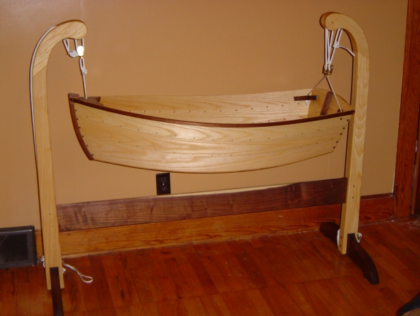Free Wooden Doll Cradle Plans