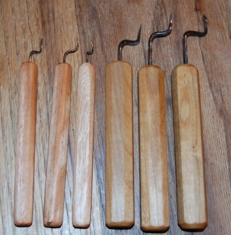 Micro Carving Chisels cherry handles