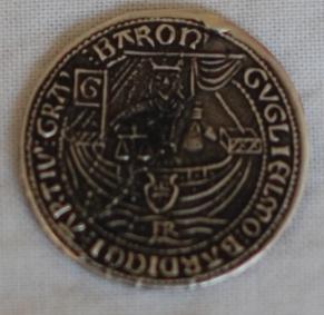 Baron Gugliemo Bardicci solid silver coin