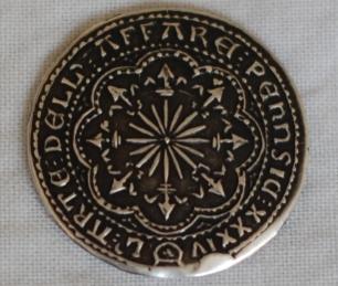 Baron Gugliemo Bardicci solid silver coin Obversea