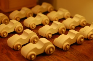 handmade toy wooden cars